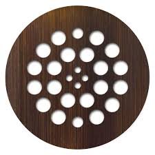 oil rubbed bronze shower drain. Wonderful Oil Redi Drain Tile 425 In X Round Plate In Oil And Rubbed Bronze Shower