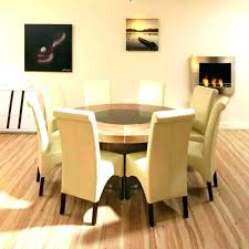 swinging round dining room tables for 8 incredible chic design round dining room tables seats table