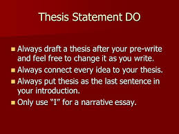 thesis statement workshop english i goals why are they  11 thesis statement