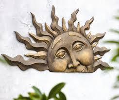 unique sun moon outdoor wall decor 5