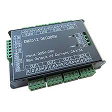 high power 24 channel 3a ch dmx512 controller led decoder dimmer dmx 512 rgb led strip driver for