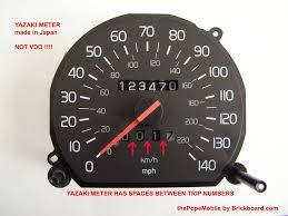 volvo speedometer repair yazaki speedometer
