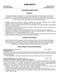 Sample Resume Account Executive Account Executive Resume Format Doc Sample Marketing Professional
