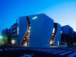 Curved Architecture Takato Tamagami Project Sunwell Muse Kitasando