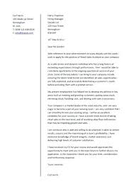 Example Of A Cover Letter For A Cv – Resume Bank