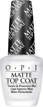 OPI <b>Верхнее покрытие для</b> создания <b>матового</b> эффекта <b>Matte</b> ...