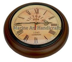victoria station wall clock antique