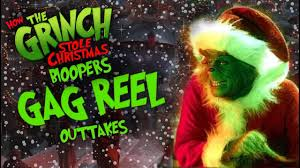 how the grinch stole 2000 bloopers reel outtakes