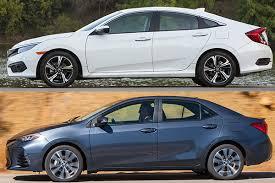 2018 Honda Civic Vs 2018 Toyota Corolla Which Is Better