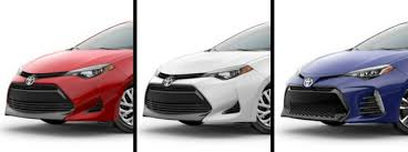 2019 Toyota Color Chart What Are The 2019 Toyota Corolla Exterior Paint Color Options