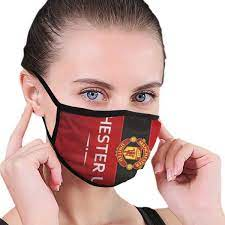 Manchester United Football Club Kids Adjustable Mouth Muffle Printed  Breathable Face Cover Adult Protection: Amazon.de: Bekleidung