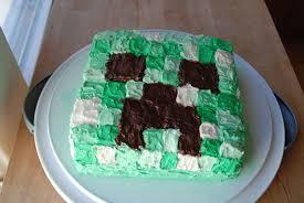 Creeper Cake Design Creeper Cake Design The Dark Parts Are Melted Chocolate