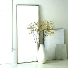 tall standing mirrors. Ornate Floor Mirror Large Mirrors Standing Silver Tall White Decorative