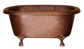 cotdrn31 ac ac picasso double roll top copper tub from barclay