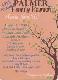 Family Reunion Flyers Templates High School Reunion Invitations New Family Reunion Flyer