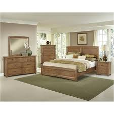 bb63 668 vaughan bassett furniture transitions dark oak bedroom bed