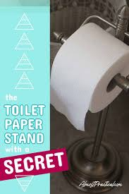 The Best Stand Alone Toilet Paper Holder It Will Blow Your Mind