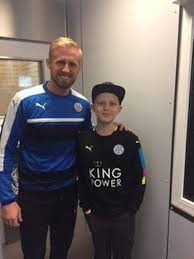 Harvey Priest visits Leicester City FC - Hinckley Times