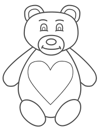Cute Teddy Bear Coloring Pages - GetColoringPages.com