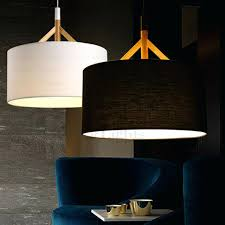 drum pendant lighting brief drum pendant light fabric shade black more large drum pendant lighting canada