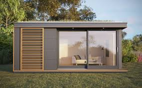 prefabricated garden office. prefab garden office uk pods u0026 outdoor building designedpod space prefabricated e