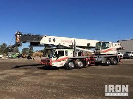 1999 Link Belt Htc 8670 Hydraulic Truck Crane In Martinez