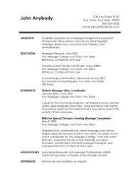 Some Resume Like Massage Therapist Resume Examples