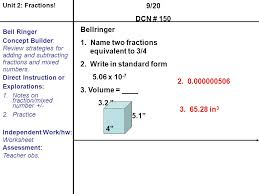 Unit 2 Fraction Operations - ppt video online download