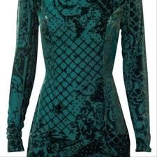 Balmain H M Size Chart Green Night Out Dress
