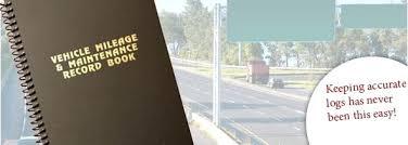 auto mileage logs vehicle book log free