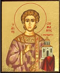 Saint steven the fist deacon