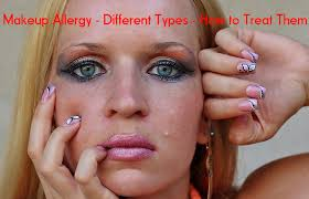 Makeup Allergy - Reactions, Types, How to Treat Them - Stylish Walks