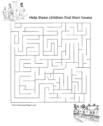 Small Picture Channel Maze Games for Kids
