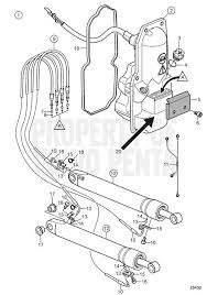 volvo penta exploded view schematic trim system kit first design exploded view schematic