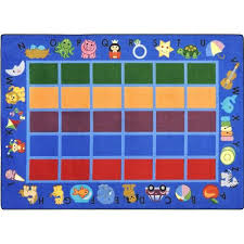 classroom rug clipart. create a unique space for learning with this colorful alphabet phonics classroom rug. rectangular rug comes in two sizes. clipart c