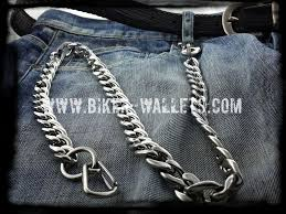 biker wallets with chains