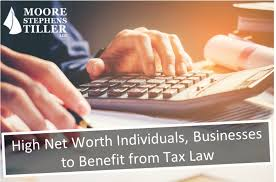 Net Worth Of Business High Net Worth Individuals Businesses To Benefit From Tax