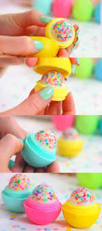 cool and fun projects to do at home. cupcake eos how to and tutorial - make cool homemade lip balm containers for your fun projects do at home a