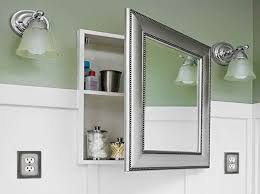 Brilliant Recessed Bathroom Medicine Cabinets With Mirror Decorating 411769 Design Throughout Ideas