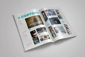 Indesign Magazine Templates Rustic Magazine Template