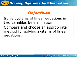 skip this loading slideshow in 5 seconds solve systems of linear equations in two variables