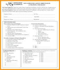 Sample Orientation Checklist For New Employee New Employee Orientation Program Template New Hire Orientation