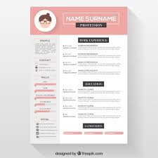 Free Unique Resume Templates For Word Free Resume Templates Simple Template Word Sample Design Free Free 4