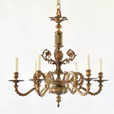 rococo bronze chandelier