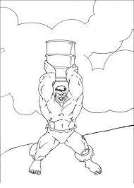 Hulk Da Colorare E Stampare 46