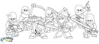 Lego Ninjago Coloring Pages - Novocom.top