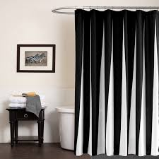 modern fabric shower curtain. Modern Polyester Shower Curtains Black White Striped Printed Waterproof Fabric For Bathroom Eco Friendly Home Hotel Supply -in From Curtain