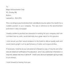 Cover Letter Follow Up Primeliber Com