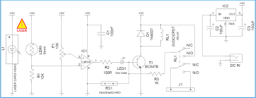 model railroad controller with presence detector rh electroschematics com model train wiring diagrams ho railroad bridges