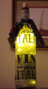 Lights For Wine Bottles 46 Best Wine Bottle Lights Images On Pinterest Bottle Lights